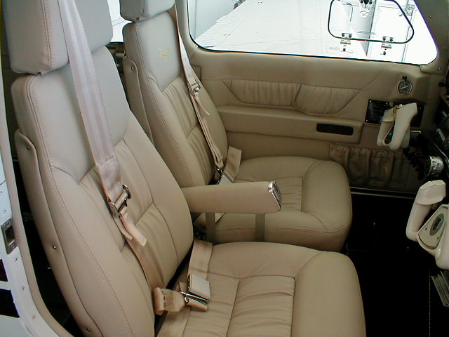 Beechcraft Upholstery | Recovery Shop Upholstery
